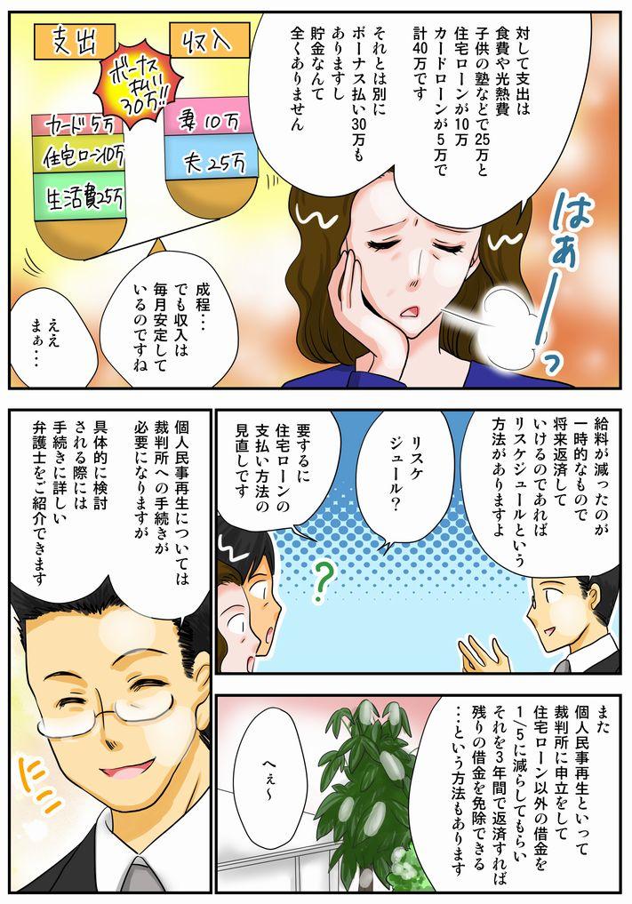 漫画で読む任意売却3